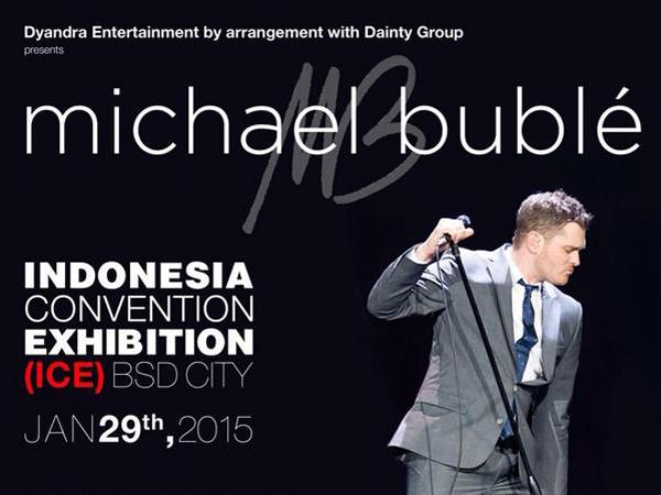 Michael Bublé Segera Gelar Konser Perdananya di Indonesia Januari 2015!
