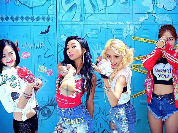 Sistar Tunjukkan Aksi Sexy Comic Dance Musim Panas dalam MV 'Shake It'