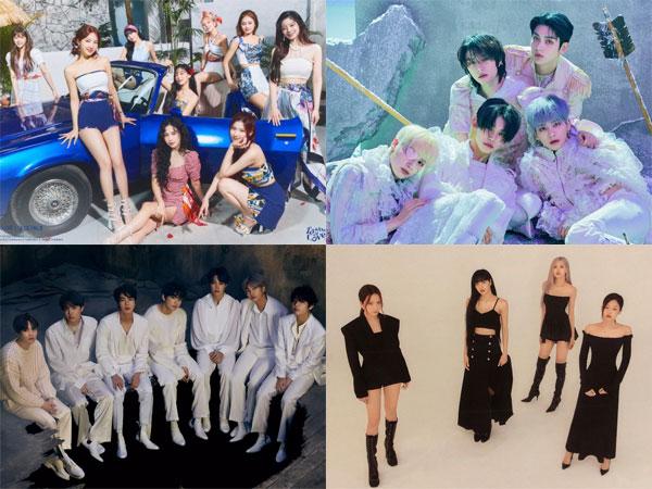 TWICE Melesat di No. 1, Inilah Artis K-Pop yang Tempati Chart Billboard World Albums