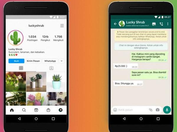 WhatsApp dan Instagram Bisa Terhubung, Begini Caranya