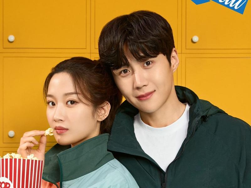 Serasinya Kim Seon Ho dan Moon Ga Young Jadi Model Iklan Bareng