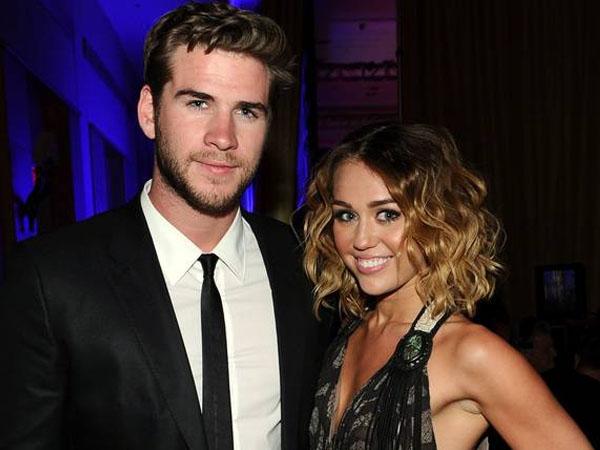 Tampil Sebagai Pasangan, Liam Hemsworth Ajak Miley Cyrus Makan Siang Bareng Keluarga