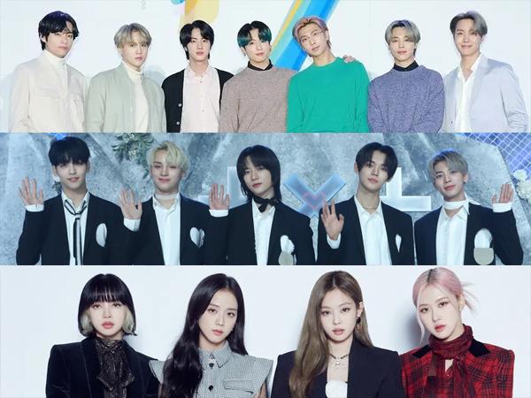 Rekor Baru Dipecahkan, Inilah Artis K-Pop yang Tempati Chart Billboard World Albums