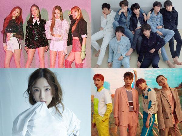 BLACKPINK Puncaki Chart Billboard World Albums, BTS, Taeyeon dan SHINee Masuk Top 10