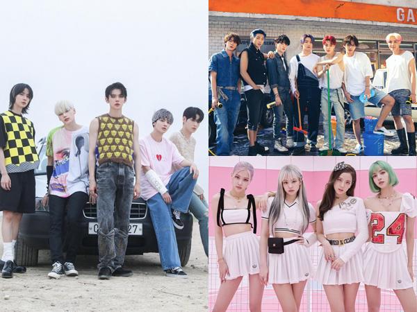 5 Grup K-Pop yang Tempati Chart Billboard World Albums Minggu Ini
