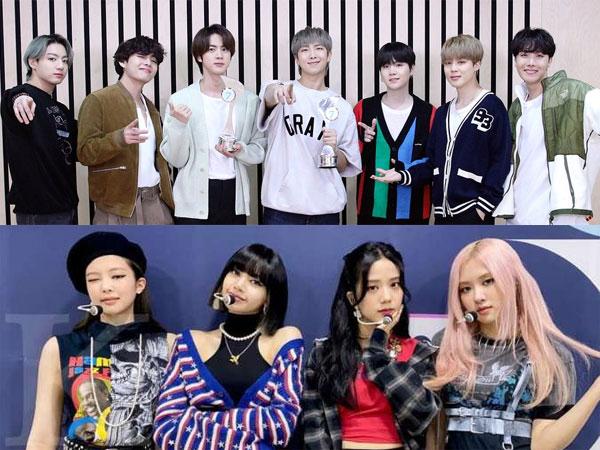 BTS Puncaki Chart Album Terlaris di Dunia, BLACKPINK Masuk Top 5