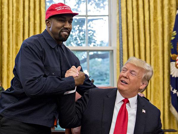 Donald Trump Sebut Keinginan Kanye West Jadi Presiden 'Menarik'