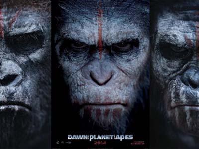 Yuk, Intip Aksi Pemeran Kera di 'Dawn of the Planet of the Apes'!