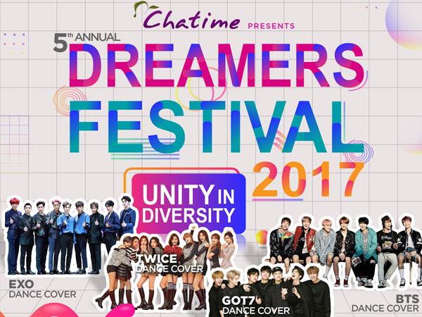 Pesta Para Pecinta K-Pop, Nantikan Keseruan Kompetisi Dance Cover di Dreamers Festival 2017!