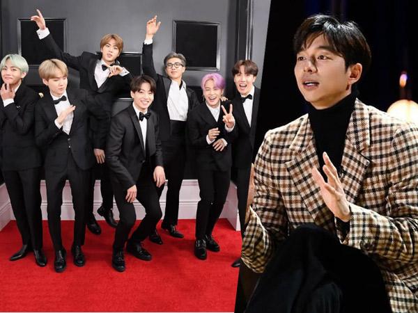 Puji BTS, Gong Yoo Ungkap Keinginan Jadi Musisi