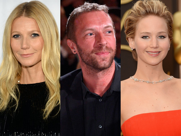 Gwyneth Paltrow Dukung Hubungan Chris Martin dan Jennifer Lawrence