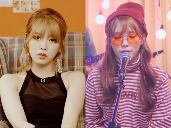 Cantiknya IU Usung Konsep Lawas di MV 'Last Night Story' & 'Sleepless Rainy Night'