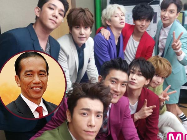 Nikmati Perkembangan K-pop, Jokowi Juga Akui Suka Super Junior!