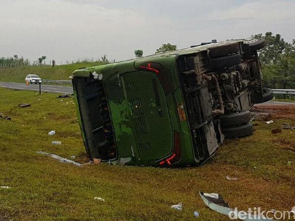 Bertambah Jadi 2 Korban Tewas, Bus Kecelakaan Cipali Bukan Sewaan Pendemo Ahok?