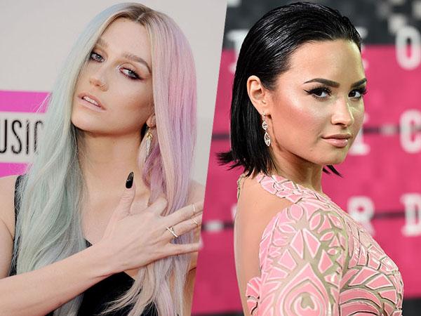 Jadi Korban Pelecehan Seksual, Kesha Dapat Dukungan Penuh dari Demi Lovato