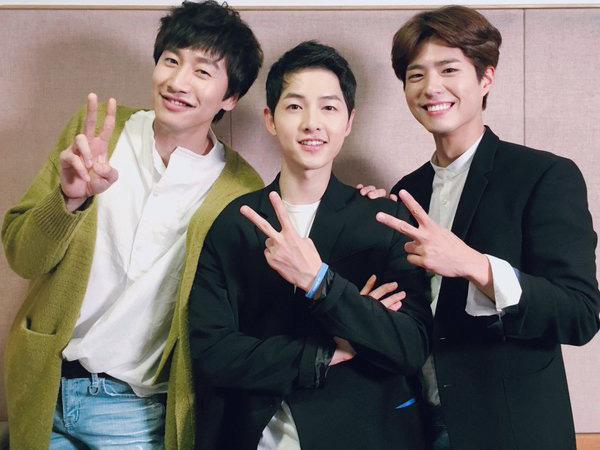 Gelar Jumpa Fans, Song Joong Ki Dapat Kejutan dengan Kehadiran Dua Sahabatnya!