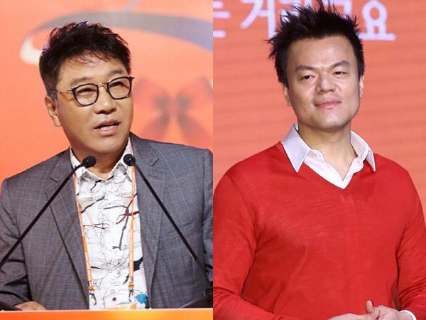 Lee Soo Man dan Park Jin Young Jadi Selebriti Terkaya di Korea!