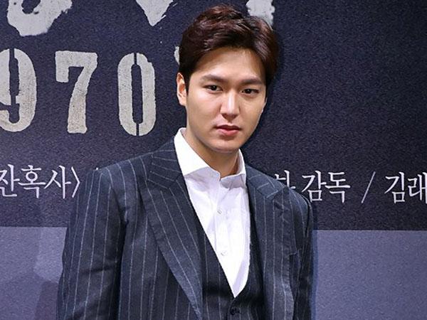 Wah, Lee Min Ho Minta Fans Nantikan Adegan Mandinya Dalam 'Gangnam 1970'!