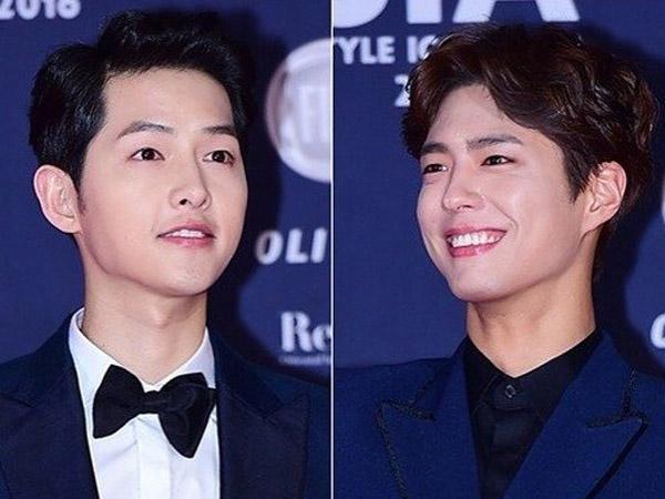 Tak Hanya Hadir, Ini Bentuk Dukungan 'Unik' Lain Park Bo Gum Untuk Fan Meeting Song Joong Ki