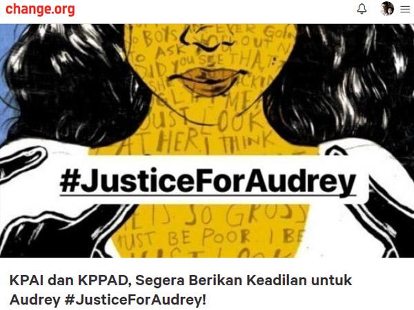 Jutaan Orang Sudah Tandatangani Petisi #JusticeForAudrey Korban Pengeroyokan 12 Siswi SMA