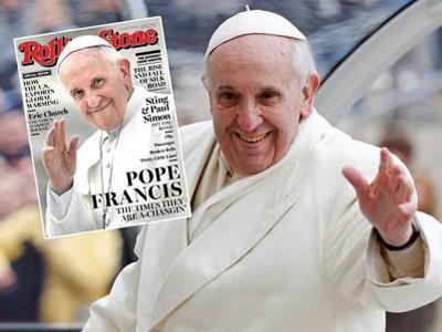 Wah, Paus Fransiskus Jadi Cover Majalah Rolling Stone