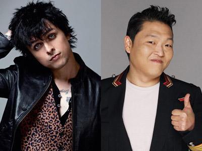 Setelah Maki Justin Bieber, Billie Joe 'Green Day' Kini Menghina Psy!