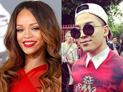 Setelah CL 2NE1, Rihanna Kini Follow Instagram Taeyang Big Bang!