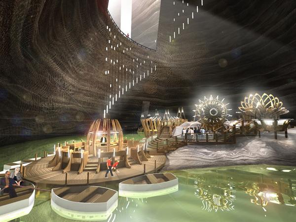 Keren, Tambang Ini Disulap Jadi Taman Hiburan Dalam 'Perut Bumi'!