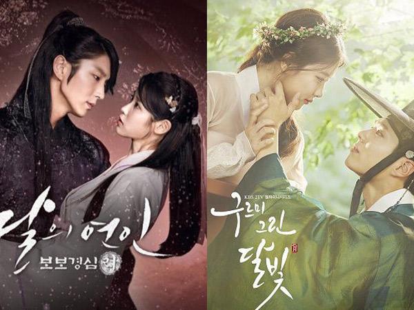 Masih Bersaing, Bagaimana Perolehan Terbaru 'Scarlet Heart' dan 'Moonlight Drawn by Clouds'?