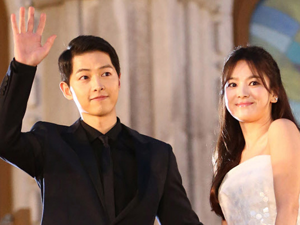 Beredarnya Undangan Pernikahan Song Joong Ki dan Song Hye Kyo yang Simple Namun Elegan