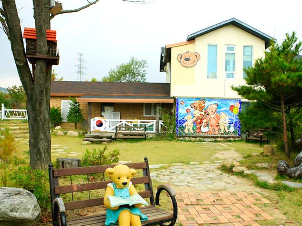 Gemasnya Berkunjung ke Teddy Bear Farm di Sokcho Korea Selatan