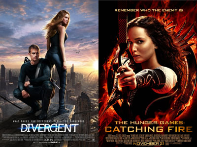 Wow, 'Divergent' dan 'The Hunger Games' Bersaing Kuat di Teen Choice Awards 2014!