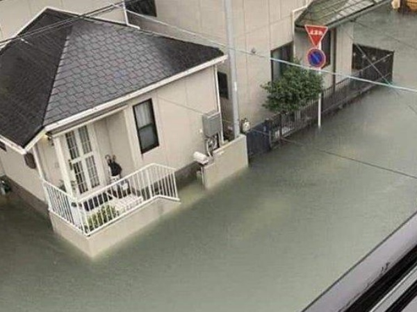 Topan Hagibis di Jepang Sebabkan Banjir, Netizen Bandingkan Dengan Banjir Indonesia