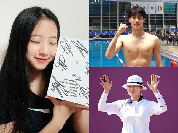 5 Interaksi Atlet 'Olimpiade Tokyo 2020' Dengan Idol K-Pop