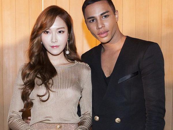 Jessica Jung Hingga Junhyung Beast Hadiri Pesta Fashion Balmain Paris di Seoul