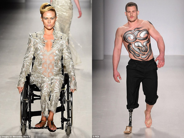 New York Fashion Week Juga Hadirkan Supermodel Penyandang Disabilitas di Runwaynya