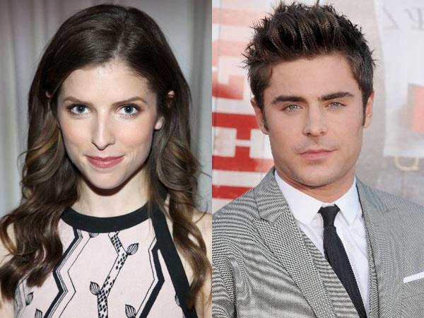 Zac Efron dan Anna Kendrick akan Jadi Pasangan di Film Komedi Romantis Terbaru?