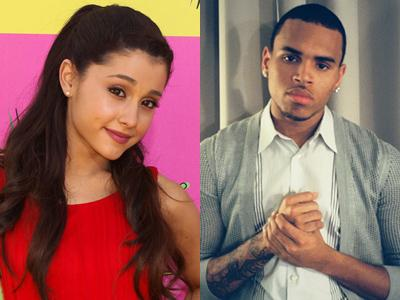 Ariana Grande akan Rilis Single Duet dengan Chris Brown?