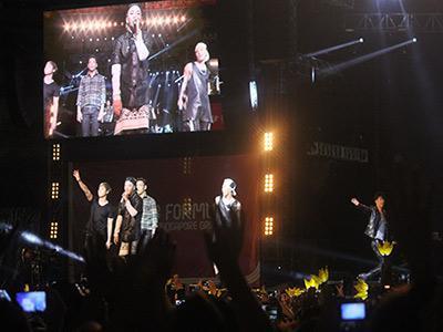 Tampil di F1 Singapura, Big Bang Hibur VIP Layaknya Konser Pribadi!