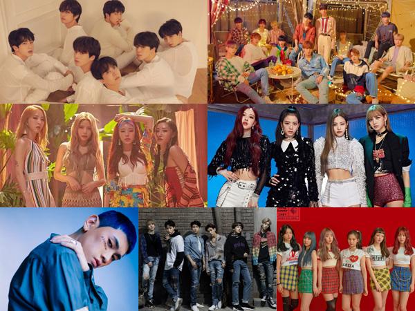 7 Artis K-Pop Dominasi Chart Billboard World Albums Minggu Ini