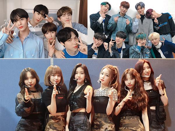 Sederet Idola Rookie Bawakan Lagu Populer di 'Music Bank' Edisi Spesial Natal