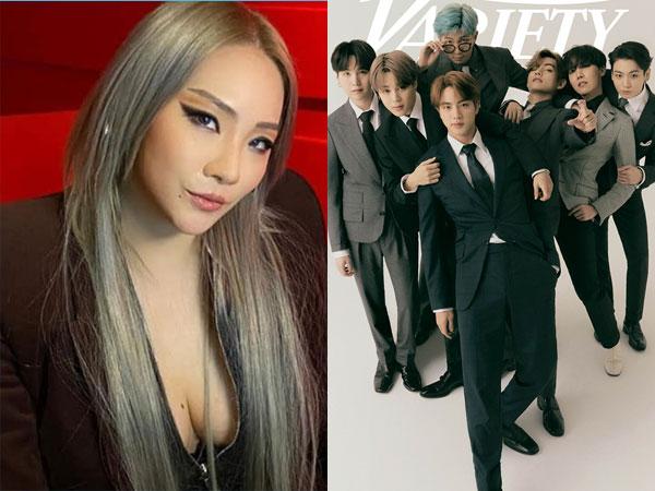 Bahas Karir Musik, CL Mengaku Bangga dengan Pencapaian BTS
