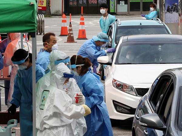 Hadapi Gelombang Kedua, Infeksi Corona di Korea Selatan Tembus 13,000 Kasus