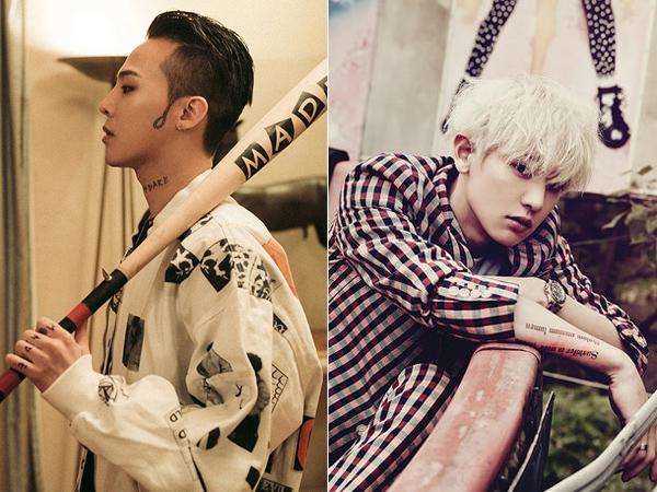 G-Dragon dan Chanyeol EXO Berhasil Rajai Instagram di Kalangan Idola K-Pop