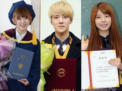 Happy Graduation Kpop Idol Class of 2013 !!