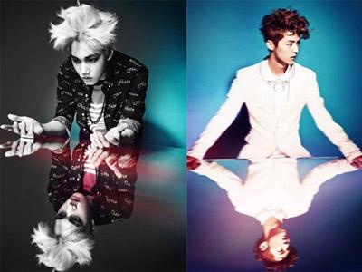 Siap Comeback, EXO Rilis Teaser Foto Individu Kai dan Luhan