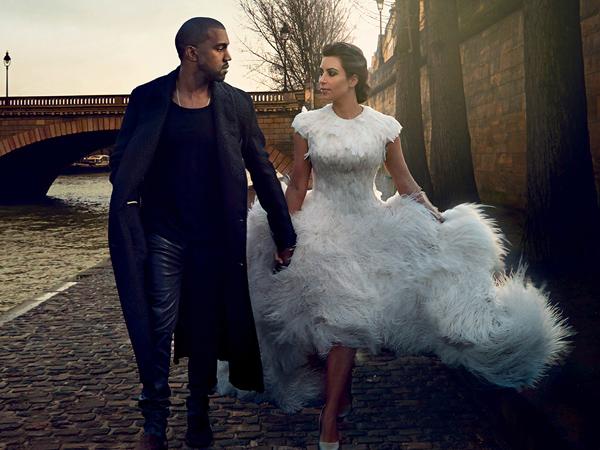 Kim Kardashian dan Kanye West Resmi Menikah di Italia