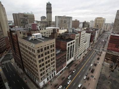 Terlilit Utang, Kota Detroit Terancam Bangkrut