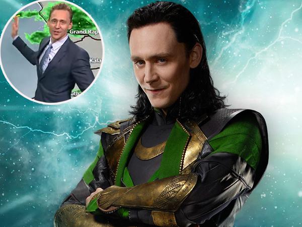 Muncul Mendadak di Berita Cuaca, Loki 'Avengers' Pecahkan Tawa Studio dan Penonton
