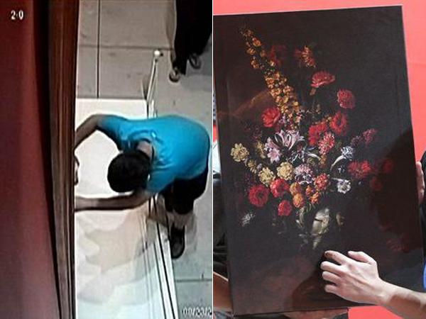Lukisan Senilai Rp. 21 M Ini Tak Sengaja Dirusak Oleh Bocah yang Kepleset!